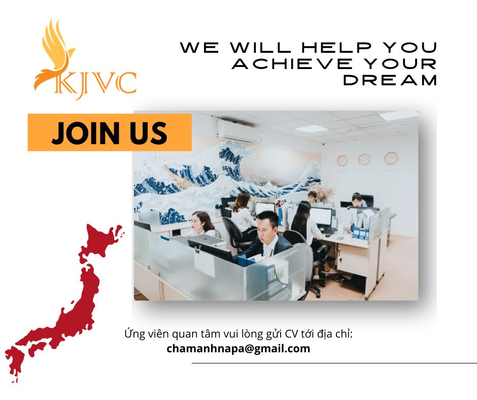 KJVC Việt Nam tuyển vị trí nhân viên Marketing - Kinh doanh